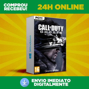 Call Of Duty Ghosts - Pc + Dublagem Envio 0s