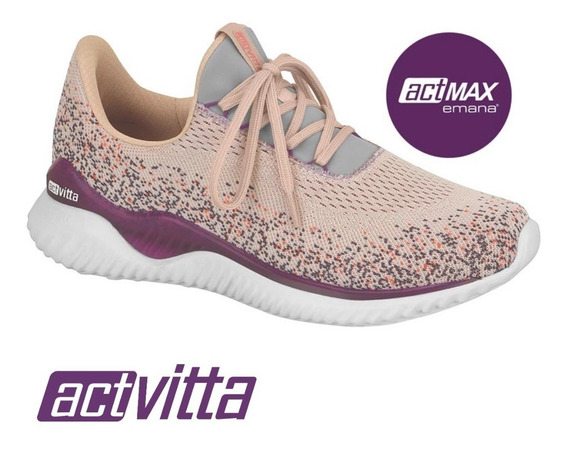 Tênis Feminino Beira Rio Conforto Actvitta Jogging 4802101