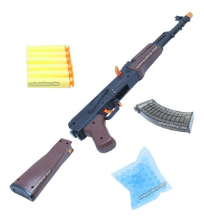 Rifle Ak-47 Juguete Orbeez Hidrogel Dardos Disparo 1x1