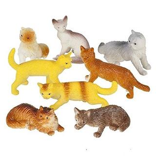 12 Gatos Surtidos (2,5 Pulgadas Pvc)