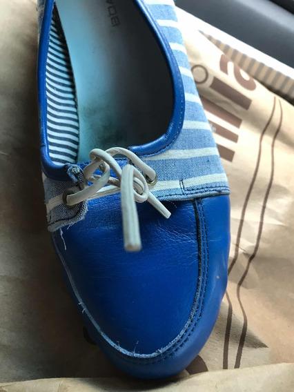 Zapatos Mocasines Boating Talle 38 De Mujer