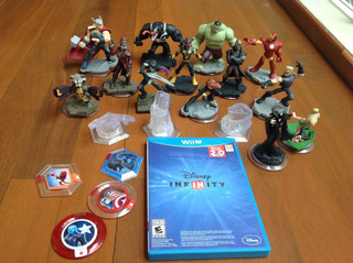 Avengers Disney Infinity Para Wii U Con Juego Y Figuras