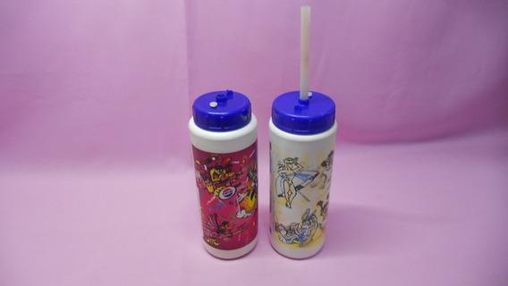 2 Pepsilindros Looney Tunes Año 1990 Pepsi Lindro