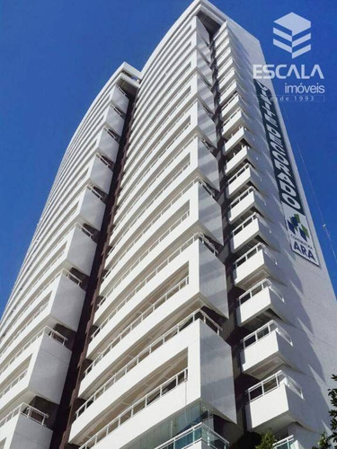 Imagem 1 de 21 de Apartamento Com 3 Quartos À Venda, 110 M², 2 Vagas, Área De Lazer - Cocó - Fortaleza/ce - Ap0694