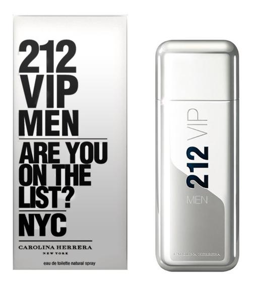 Perfume 212 Vip Men Carolina Herrera 100ml Original Lacrado