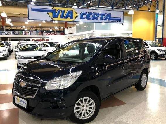 Chevrolet Spin 1.8 Lt 8v Flex * C/ Bancos Em Couro *