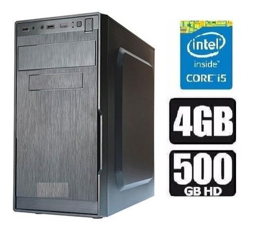 Cpu Intel I5 3.10 Ghz + 4gb Ram + 500 Gb Hd Windows 10