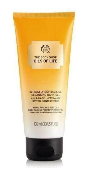 The Body Shop - Oils Of Life - Cleansing Oil In Gel