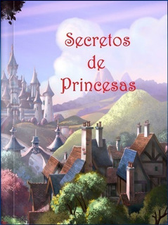 Secretos De Princesas, Libro Personalizado Tapa Dura 20x26cm