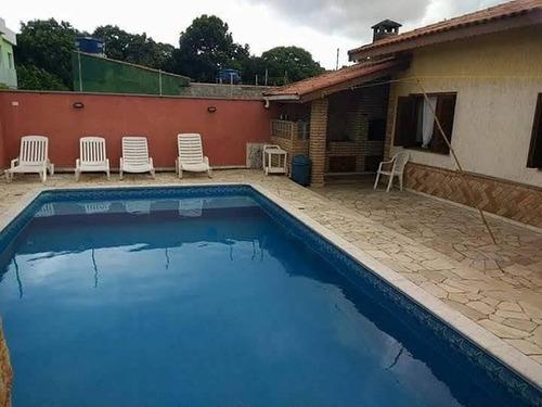 Casa Para Venda Em Itanhaém, Parque Augustus, 3 Dormitórios, 1 Suíte, 3 Banheiros, 3 Vagas - It093_2-1154966