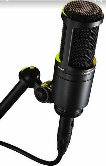 Microfone Áudio Technica At2020 - General Som