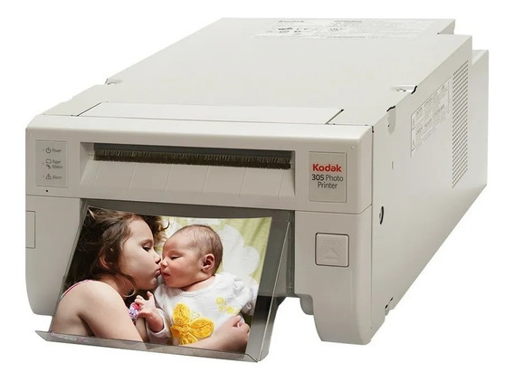 Impressora a cor fotográfica Kodak 305 110V branca