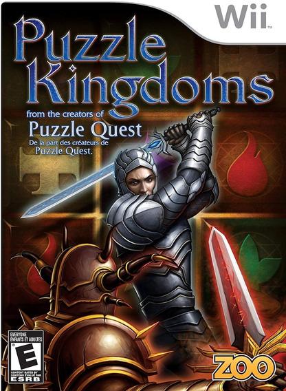 Jogo Puzzle Kingdoms Original E Lacrado Para Nintendo Wii