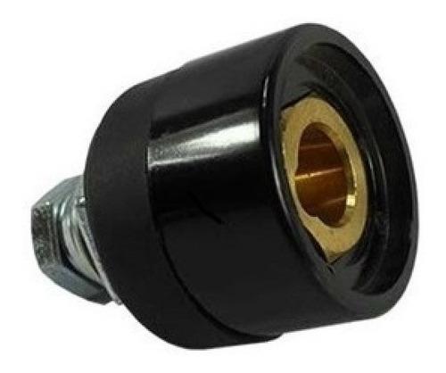 Imagem 1 de 2 de Conector Engate Rápido Fêmea P/painel De Maquina 13mm