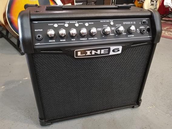 Outlet I Amplificador De Guitarra Line 6 Spider Iv 15