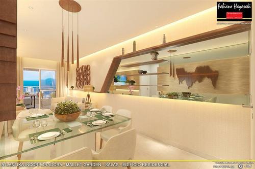 Apartamento, 2 Dorms Com 71.31 M² - Forte - Praia Grande - Ref.: Atk36 - Atk36