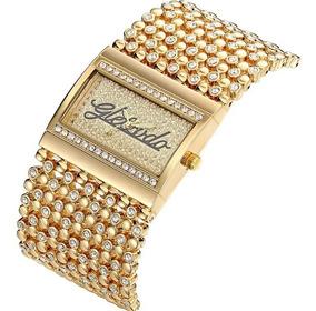 Relógio Bracelete Feminino Luxo G & D