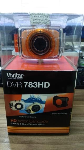 Câmera Filmadora De Ação Hd Vivitar Dvr783hd