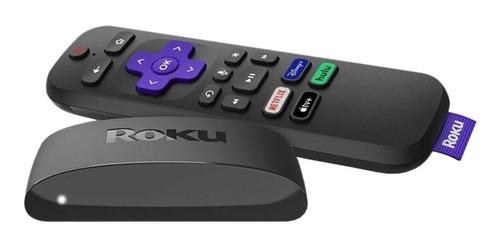 Imagen 1 de 3 de  Roku Express 4K+ 3941  de voz 4K  negro
