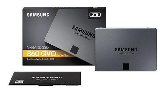 Ssd Samsung 860 Qvo Series 2tb Sata Iii 6gb/s Mz-76q2t0b/am
