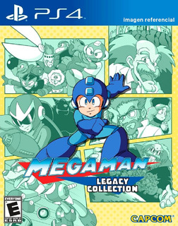 Megaman Legacy Collection / Juego Físico / Ps4