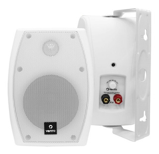 Parlante Sonido Ambiental Dk4 Vento Blanco Par 80 Watts Rms