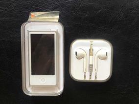 iPod Nano 7ª Geração Branco/prata Completo Na Caixa