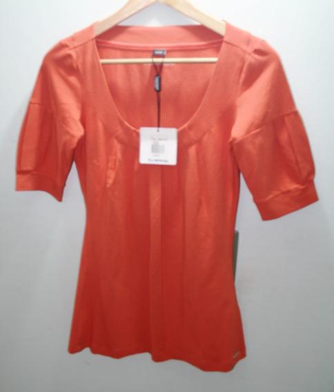 Blusa Naranja Dama Usada Esprit
