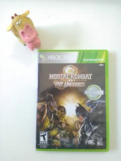 Mortal Kombat Vs Dc Universe Xbox 360 Garantizado