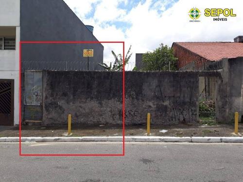 Terreno À Venda, 125 M² Por R$ 280.000,00 - Jardim Tietê - São Paulo/sp - Te0079