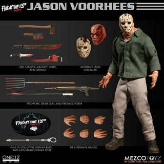 Mezco One:12 Friday The 13th Part 3 Jason Voorhees