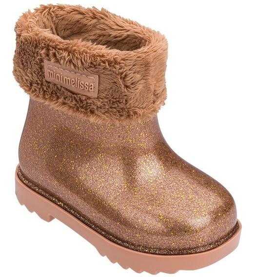 Mini Melissa Winter Boot (bota De Pelinho)