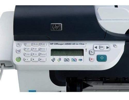 Hp-officejet Multifuncional J4660 Av/st2 - Usado