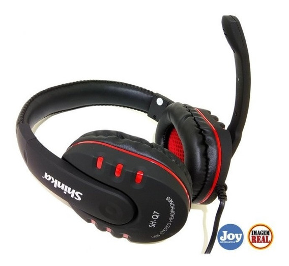 Fone Headset Gamer Usb 7.1 Digital C/ Mute Ps3 Ps4 Pc Note