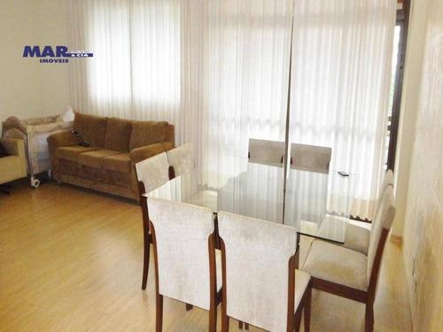 Imagem 1 de 16 de Apartamento Residencial À Venda, Barra Funda, Guarujá - . - Ap7134