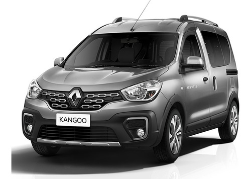 Renault Kangoo Ii Zen 2021 0km Gris Contado Financiado
