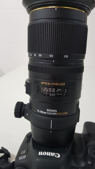 Lente Sigma 70-200mm F/2.8 Ex Dg Apo Os Hsm