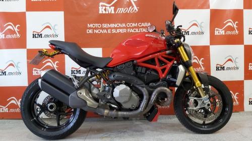 Imagem 1 de 10 de Ducati Monster 1200 S 2018  Vermelha
