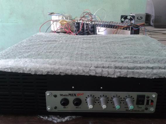 Potencia Ja Com O Pré Amplificador 300wrms Por Canal