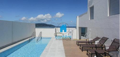 Ad0033 - Condomínio Mirante Apartamento Duplex Com 2 Dormitórios À Venda, 120 M² Por R$ 817.000 - José Menino - Santos/sp - Ad0033