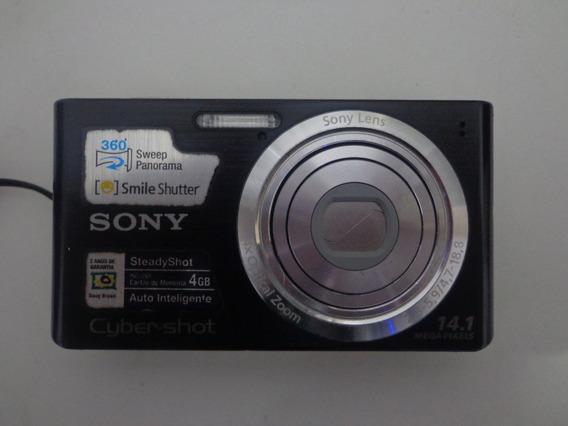 Câmera Digital Sony Dsc-w610 - Detalhes