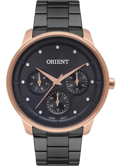 Relógio Orient Feminino Swarovski Original Nota Ftssm050g1px
