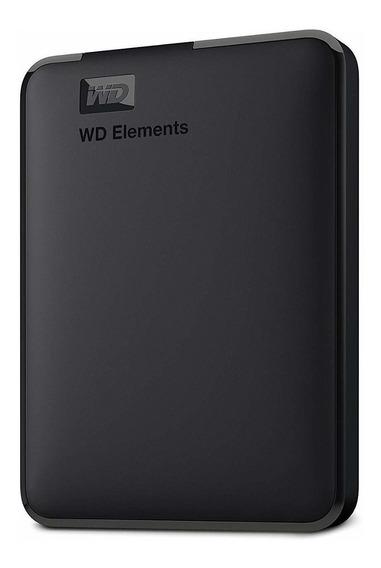 Disco Duro Portatil Usb 2 Tb Western Digital Elements 3.0