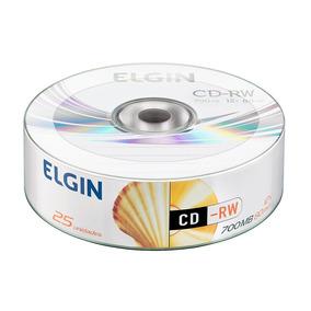 Cd-rom Elgin Midia 700mb 80min 12x Bulk 25