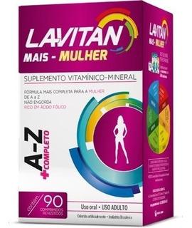 Lavitan A-z Completo Mulher 90 Cápsulas
