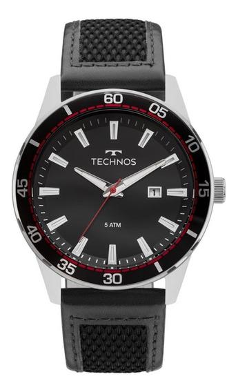 Relógio Technos Masculino Analógico Racer Pulseira Silicone