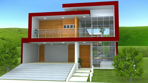 Casa Duplex 4 Suítes - Para Construir - Cond Portal Ca-452