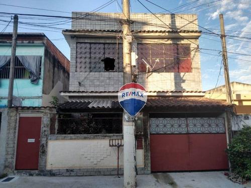 Imagem 1 de 12 de Casa Bifamíliar Com 4 Dormitórios À Venda, 184 M² Por R$ 245.000 - Senador Vasconcelos - Rio De Janeiro/rj - Ca0687