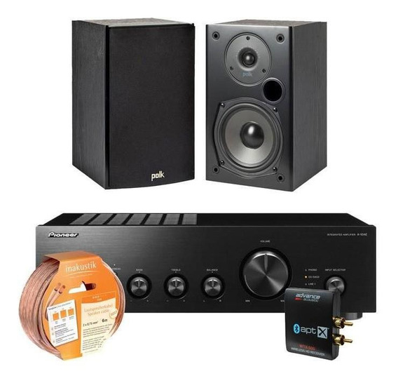 Kit Pioneer A10ae/polk T15/advance Wtx500/cable Inakustik