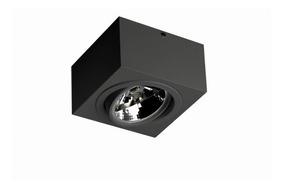 Kit 5 Plafon Spot Ar111 Sobrepor Direcionável C/ Lâmpada